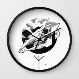 Algiz Wall Clock