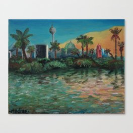 Oasis - Summer in Berlin Canvas Print