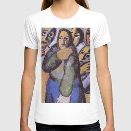 Vintage Peasant Women in Church by Kazimir Malevich 1915 T-shirt