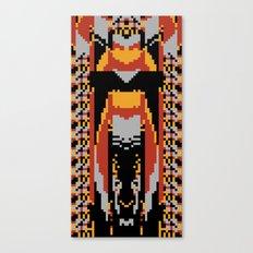 The Cicada And Hawk Moth Canvas Print