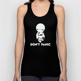 Don't Panic Marvin Unisex Tank Top