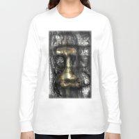 camus Long Sleeve T-shirts featuring Camus by John Hansen