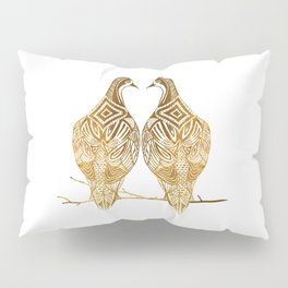 Two Turtle Doves Pillow Sham