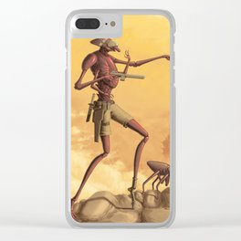 Scouting the Badlands Clear iPhone Case