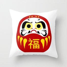 Daruma Throw Pillow