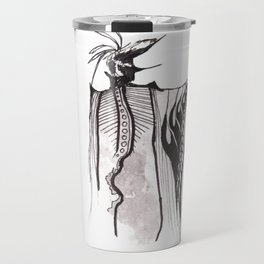 The character and the cape Travel Mug