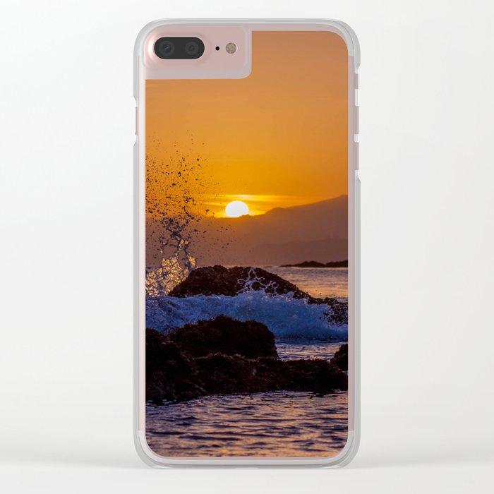 seaside Clear iPhone Case
