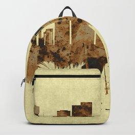 Tel Aviv Israel Cityscape Backpack