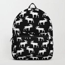 Moose Trot // Black Backpack