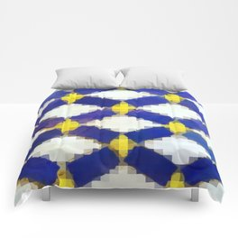 Moroccan Mosaic Tiles Comforters
