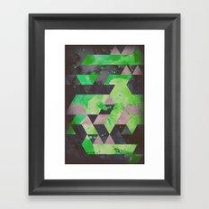 toxic hips Framed Art Print