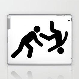 Stickman Throw Laptop & iPad Skin