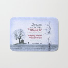 Let Us Reason Bath Mat