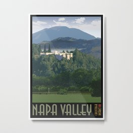 Napa Valley - Sterling Vineyards, Calistoga District Metal Print