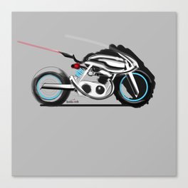 Chrome kill Canvas Print
