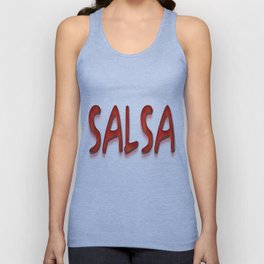 Salsa Enrique Red Unisex Tank Top