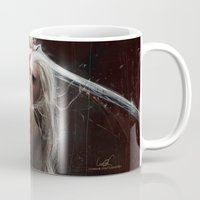 thranduil Mugs featuring Thranduil by LucioL