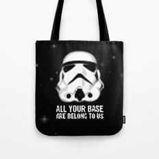 All Your Base Are Belong To Us Tote Bag