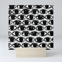 Inky Eyes Mini Art Print