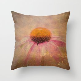 Cone Flower Dream Throw Pillow