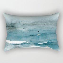 dissolving blues Rectangular Pillow