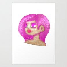 Diamond Dusted Art Print