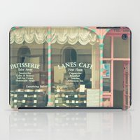 cafe iPad Cases featuring Sweet Cafe by Cassia Beck