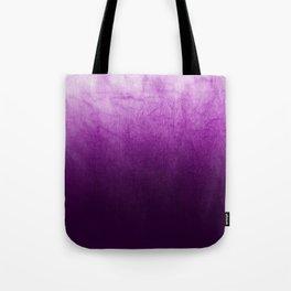 Purple Watercolor On Cotton Tote Bag