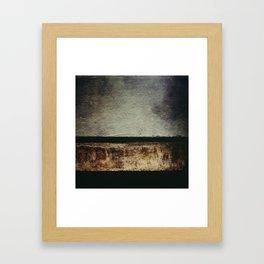 Desert Horizon Framed Art Print