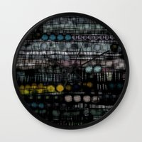 study Wall Clocks featuring :: Sleep Study :: by :: GaleStorm Artworks ::