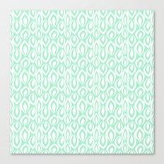 Leafyrific-Fresh Mint Canvas Print
