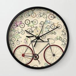 Love Fixie Road Bike Wall Clock