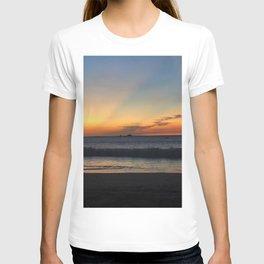 Luminous Tropical Sundown  T-shirt