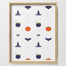 Trick or Treat Happy Halloween Serving Tray
