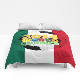 2014 World Champs Ball - Mexico Comforters