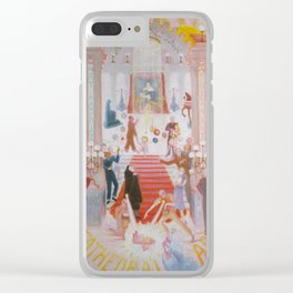 The Cathedrals of Art Clear iPhone Case