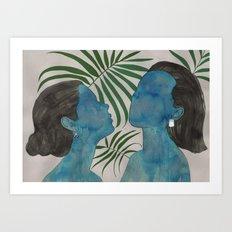 palmiye ( trabzon hasırı & kazaziye ) Art Print