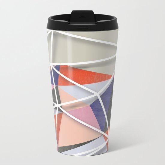 Fill & Stroke VI Metal Travel Mug