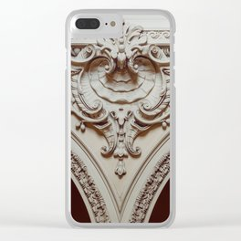 Flow into place Clear iPhone Case