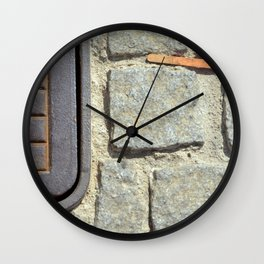 Popsicle Stick Wall Clock