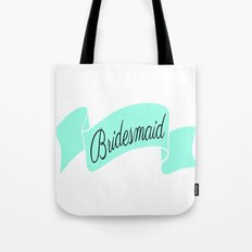 Mint Bridesmaid Tote Bag