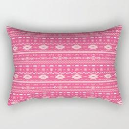 Aztec BubbleGum  Rectangular Pillow