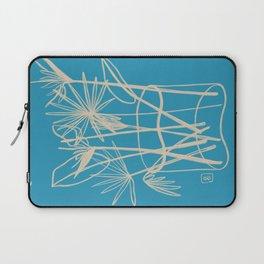 TROPICAL FLOWERS IN A VASE Laptop Sleeve