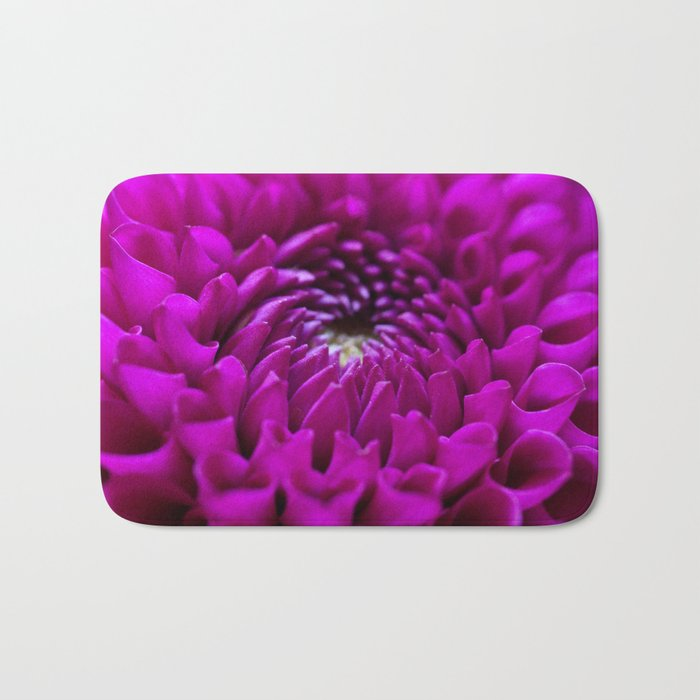Pink Dahlia #1 #art #society6 Bath Mat