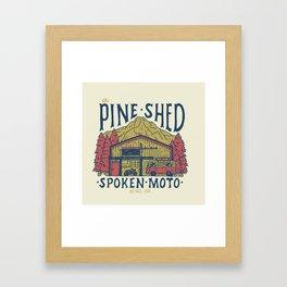 The Pine Shed  Framed Art Print
