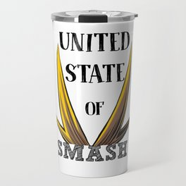 United State Of Smash, All Might Travel Mug