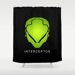 Interceptor Avatar Shower Curtain