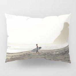 Sunset surf session Pillow Sham