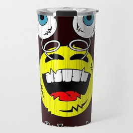 FREAKIN' LAUGHING EMOTICON! Travel Mug