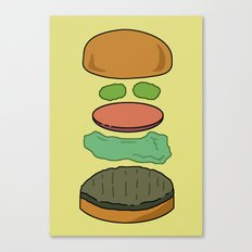 Deconstructed Burg Canvas Print